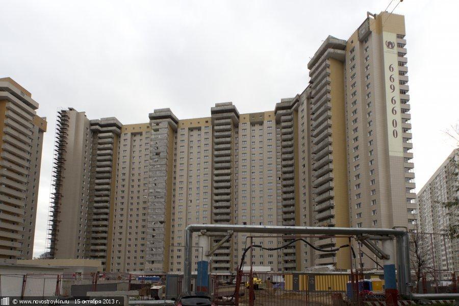 Мэрия Москвы решила самостоятельно достроить корпус ЖК «Триумфальный»