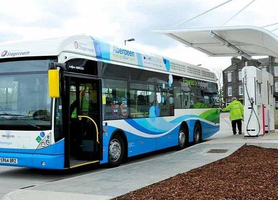 В следующем году по столице начнет курсировать электробус на топливных ячейках