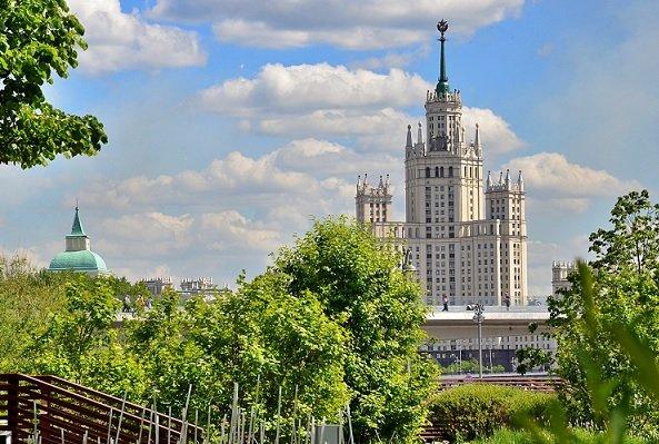 Москва признана одним из самых «зеленых» российских регионов