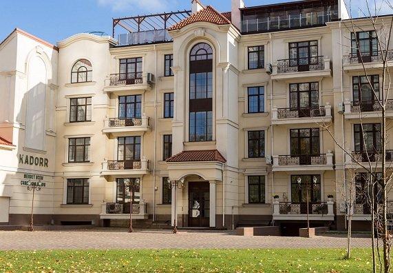Объем предложения элитного жилья сократился на 40%