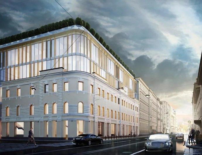 «Wainbridge» совместно с партнерами собирается достроить «Golden Mile» на Остоженке