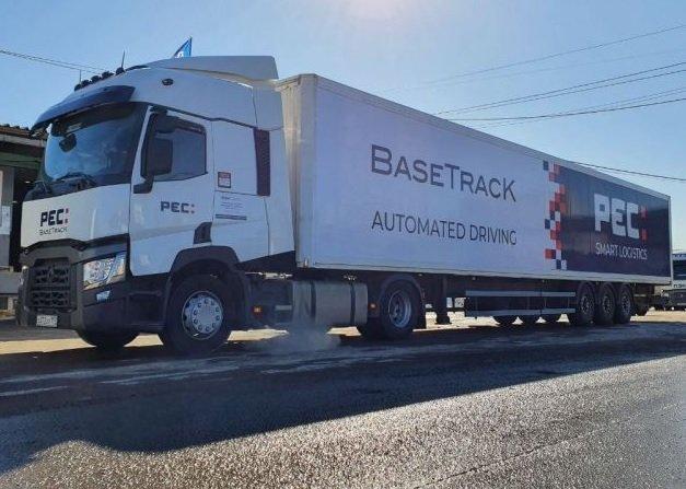 До конца года по М11 начнут курсировать беспилотные большегрузы BaseTracK